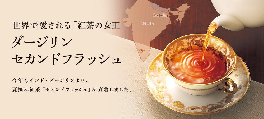 世界で愛される「紅茶の女王」 ダージリン セカンドフラッシュ