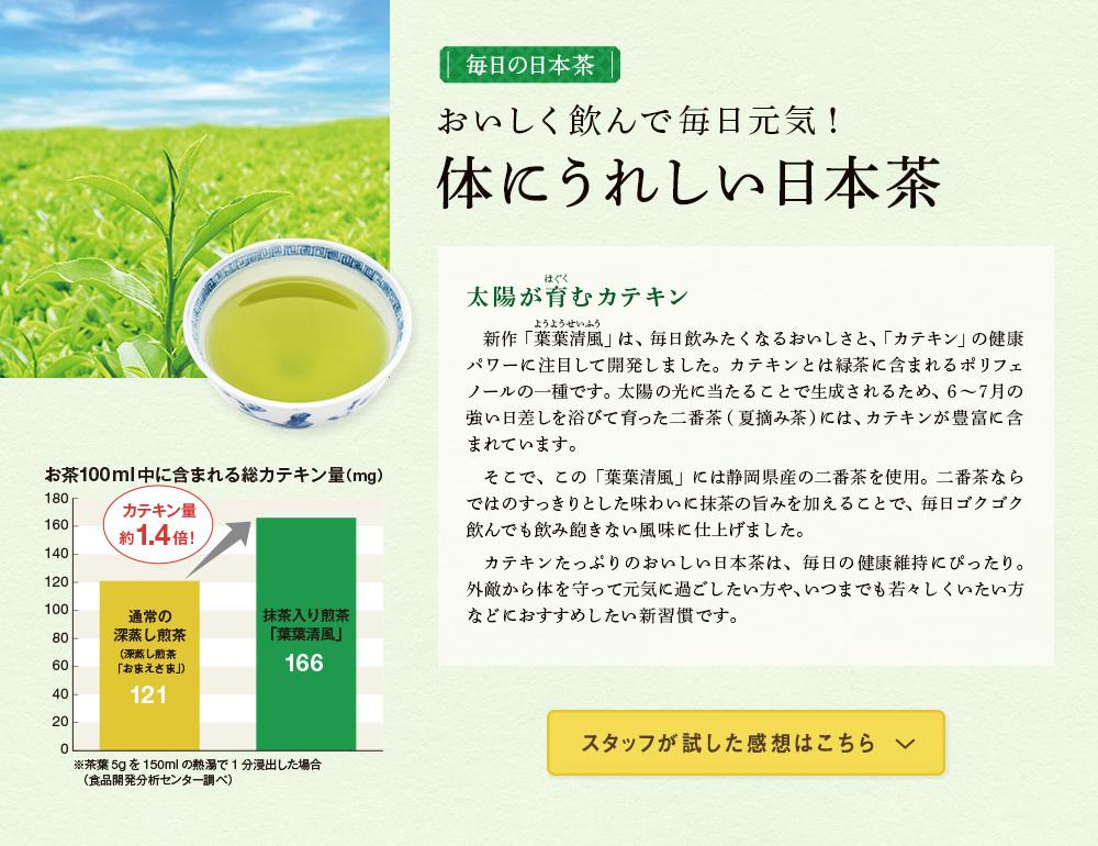 体にうれしい日本茶、誕生