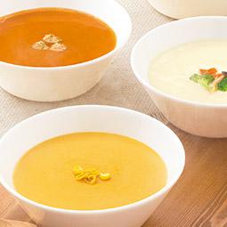 厳選された素材による上質なプロの味わい ヴィラルピシアのスープ