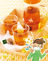 早めが肝心!甜茶で花粉対策