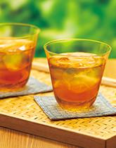 伝統の健康飲料 麦茶でひと休み