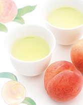 一番人気の緑茶 白桃煎茶