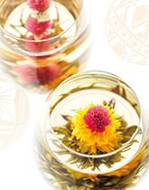美しく咲くジャスミンティー 工芸茶(テ マリ)