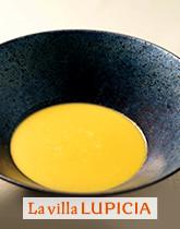 ヴィラ ルピシアのコーンスープ