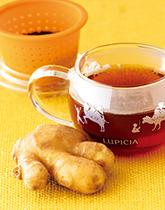 ぽかぽか習慣で体を守る 生姜のお茶