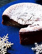 キリリ大人の味わい広がる とろける冬のガトーショコラ