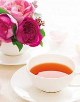 バラの香りのお茶