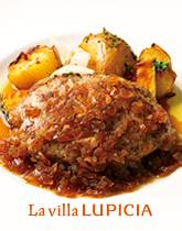 味わい深いお肉を2種 オニオンソース ハンバーグ