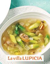 春旨みと優しい甘みのハーモニー 春アサリのスープ