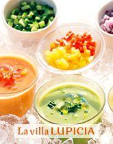 トマトたっぷりの冷たいスープ ガスパチョ