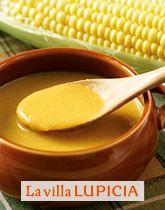 今年のトウモロコシはぎゅっと甘い!コーンスープ