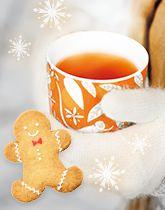クリスマスにジンジャーティーを!