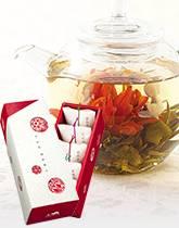 新年のお祝いに 花咲く工芸茶
