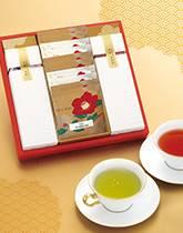 上質な日本茶とクラシックな紅茶の詰め合わせ