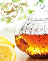 旬のニルギリ紅茶で 春のレモンティー