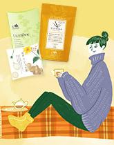 すこやかな毎日に 健康サポートのお茶