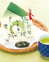 元気で暮らせますように 春の七草茶