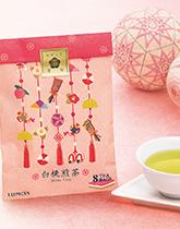 暖かな春はすぐそこ 桃の香りのお茶