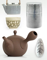 WEB限定企画「毎日の日本茶を彩る茶器展」開催中!