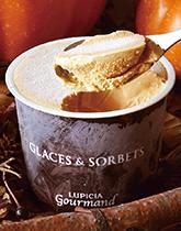 北海道で作るお茶のアイス グラス&ソルベ
