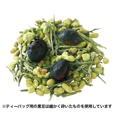 抹茶黒豆玄米茶ティーバッグ25個入