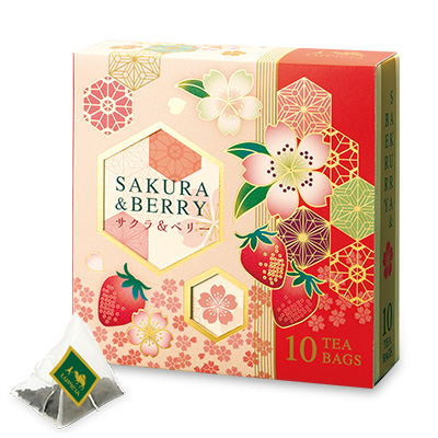 紅茶とスイーツ「春いちご」