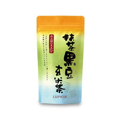 【まとめ買いセット】 8834 抹茶黒豆玄米茶 100g袋入×10点