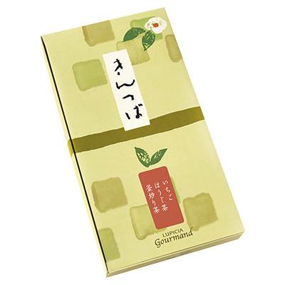 ニセコのきんつば3種セット(ほうじ茶、釜炒り茶、いちご)