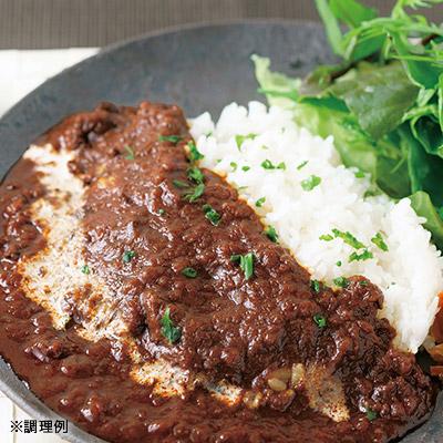 熟成玄米で食べるカレーセット