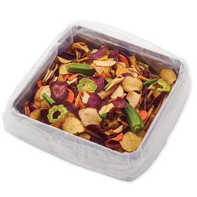 野菜と果物の彩りチップス秋 〜お芋たっぷり〜