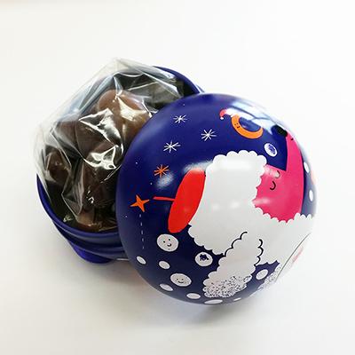 ル・ショコラ・デ・フランセ クリスマスオーナメント缶