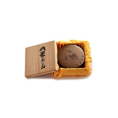 ルピシア オリジナル銅製茶缶 銀色