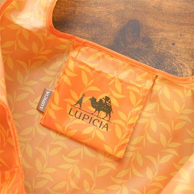 ルピシア オリジナル エコバッグ オレンジ