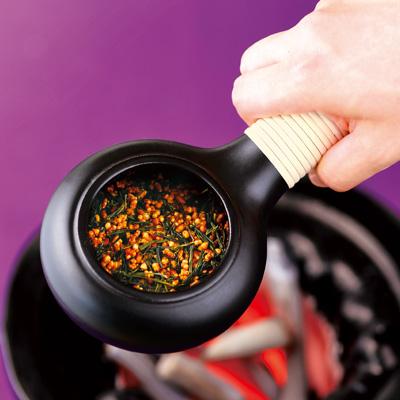 オリジナル・ミニ焙烙(籐巻き)
