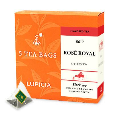 紅茶2種とお菓子「スマイル」
