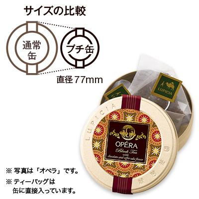 テ・オ・ショコラ ティーバッグ5個プチ缶入