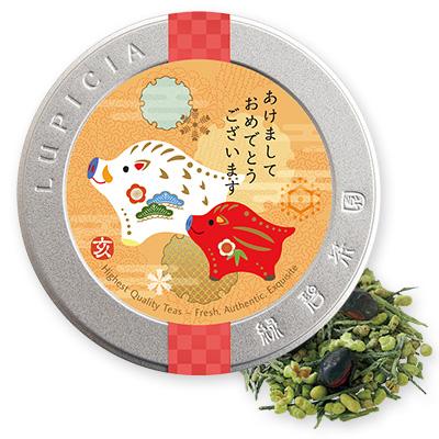 日本茶2種とお茶請け「百祥(ひゃくしょう)」