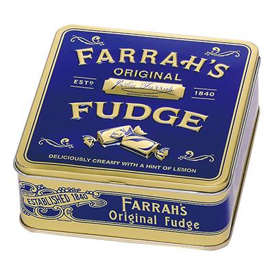 ファラーズ フラット缶 オリジナルレモンファッジ