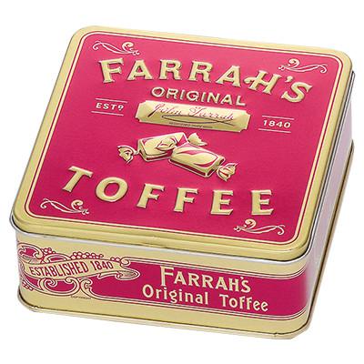 ファラーズ フラット缶 オリジナルクリーミートフィー