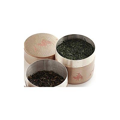 ルピシア オリジナル銅製茶筒 素銅色