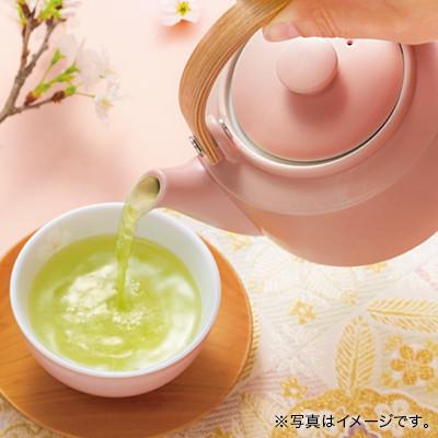 美濃焼 湯のみ 桜(白)