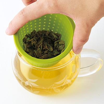 茶こしマグ モンポット・グリーン