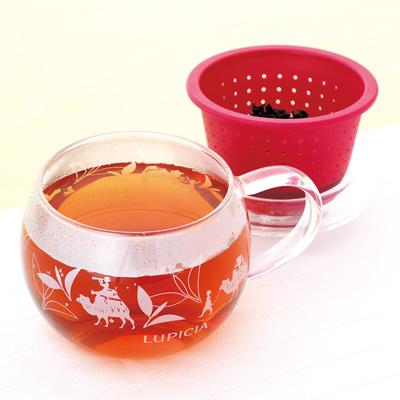 茶こしマグ モンポット・ラズベリー