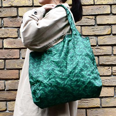 ルピシア オリジナル エコバッグ グリーン