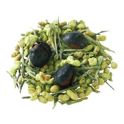 野菜と果物の彩りチップス秋と日本茶