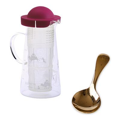 紅茶とお菓子と茶器「燦々」