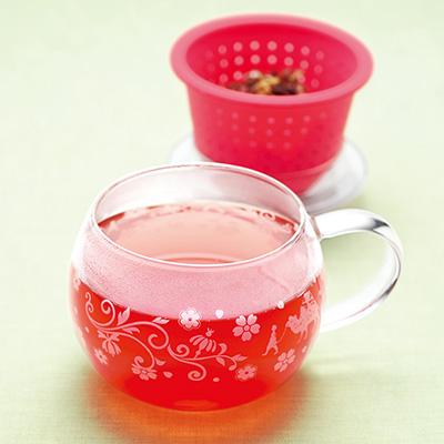 フルーツティーと茶器「シュシュ」