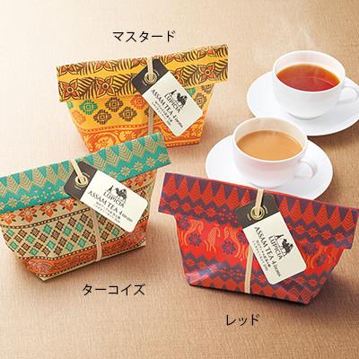 旬のアッサム紅茶4種 ミルクティーセット 2019 レッド