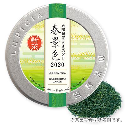 大隅新茶 さえみどり 「春景色」 2020 50gデザイン缶入