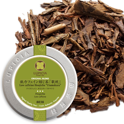 低カフェイン焙じ茶 「歌枕」 - 50g M 缶入